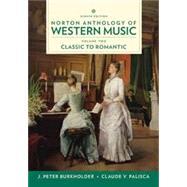 Norton Anthology of Western...,Burkholder, J. Peter; Grout,...,9780393656428