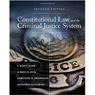 Constitutional Law and the...,Harr, J. Scott; Hess, Kären...,9781305966468