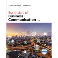 Essentials of Business...,Guffey, Mary Ellen; Loewy,...,9781337386494