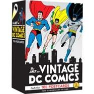 The Art of Vintage DC Comics...,Unknown,9780811876506