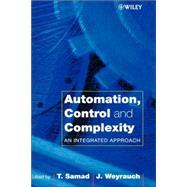 Automation, Control and...,Samad, Tariq; Weyrauch, John,9780471816546