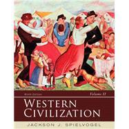Western Civilization: Volume...,Spielvogel,9781285436555