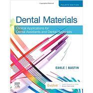 Dental Materials,Eakle, W. Stephan; Bastin,...,9780323596589