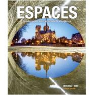 Espaces (w/Supersite Code &Student Manual) by Mitchell, 9781680056600