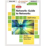 Bundle: Network+ Guide to Networks, Loose-Leaf Version, 8th + MindTap Networking, 1 term (6 months) Printed Access Card by West, Jill; Dean, Tamara; Andrews, Jean, 9781337756617