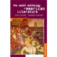 The Heath Anthology of...,Lauter, Paul,9780618256631