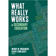 What Really Works in...,Murawski, Wendy W.; Scott,...,9781483386652