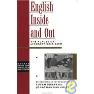 English Inside and Out by Gubar,Susan Kamholtz, 9780415906685