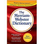 The Merriam-webster Dictionary,Merriam Webster,9780877796688