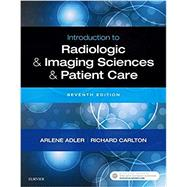 Introduction to Radiologic &...,Adler, Arlene M.; Carlton,...,9780323566711