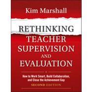 Rethinking Teacher...,Marshall, Kim,9781118336724
