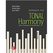 Workbook/Tonal Harmony,Kostka, Stefan,9781259686764