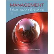 Management Information Systems,O'Brien, James; Marakas,...,9780073376813