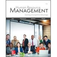 Human Resource Management,Noe, Raymond; Hollenbeck,...,9781260076844