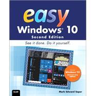 Easy Windows 10 by Soper, Mark Edward, 9780789756848