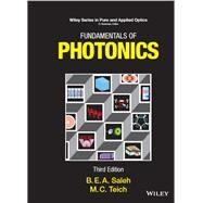 Fundamentals of Photonics, 2 Volume Set by Saleh, Bahaa E. A.; Teich, Malvin Carl, 9781119506874