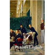 Proust's English by Karlin, Daniel, 9780199256891