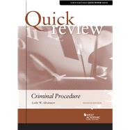 Quick Review of Criminal Procedure by Abramson, Leslie W., 9781684676927