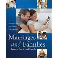 Marriages and Families:...,Olson, David; DeFrain, John;...,9780078026928