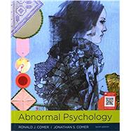 Abnormal Psychology,Comer, Ronald J.; Comer,...,9781319066949