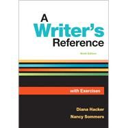 A Writer's Reference with Exercises by Hacker, Diana; Sommers, Nancy, 9781319106966