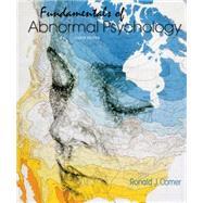 Fundamentals of Abnormal...,Comer, Ronald J.,9781464176975