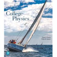 College Physics,Young, Hugh D.; Adams, Philip...,9780134876986