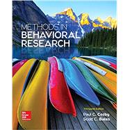 Methods in Behavioral Research by Cozby, Paul; Bates, Scott, 9781259676987