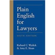 Plain English for Lawyers by Wydick, Richard C.; Sloan, Amy E., 9781531006990