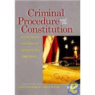 Criminal Procedure and the Constitution by Israel, Jerold H.; Kamisar, Yale; Lafave, Wayne R.; King, Nancy J., 9780314906991