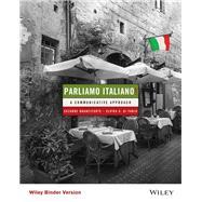 Parliamo italiano! A...,Branciforte, Suzanne; Di...,9781119146995