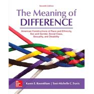 The Meaning of Difference: American Constructions of Race and Ethnicity, Sex and Gender, Social Class, Sexuality, and Disability by Rosenblum, Karen; Travis, Toni-Michelle, 9780078027024