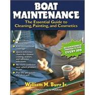 Boat Maintenance: The...,Burr, William,9780071357036