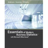 Essentials of Modern Business...,Anderson, David R.; Sweeney,...,9781285867045