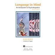 Language in Mind An...,Sedivy, Julie,9781605357058