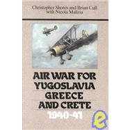 Air War for Yugoslavia,...,Shores, Christopher; Cull,...,9780948817076