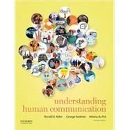 Understanding Human...,Adler, Ronald B.; Rodman,...,9780190297084