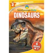 Smithsonian Kids All-Star Readers: Dinosaurs Level 2 by Unknown, 9781645177098