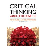 Critical Thinking About...,Meltzoff, Julian; Cooper,...,9781433827105
