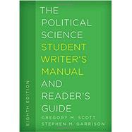 The Political Science Student...,Scott, Gregory M.; Garrison,...,9781442267107