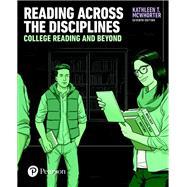 Reading Across the Disciplines,McWhorter, Kathleen T.,9780134397108