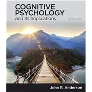 Cognitive Psychology and Its...,Anderson, John,9781319067113