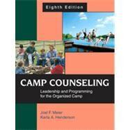 Camp Counseling: Leadership...,Meier, Joel F.; Henderson,...,9781577667131