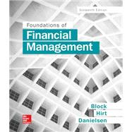 Foundations of Financial...,Block, Stanley; Hirt,...,9781259277160