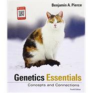 Genetics Essentials Concepts...,Pierce, Benjamin A.,9781319107222