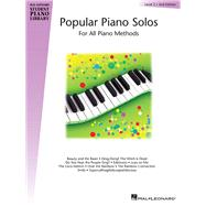 Popular Piano Solos - Level 2 Hal Leonard Student Piano Library by Unknown, 9780793577248