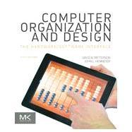 Computer Organization and...,Patterson, David A.;...,9780124077263