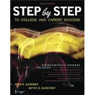 Step by Step to College and...,Gardner, John N.; Barefoot,...,9781319107277