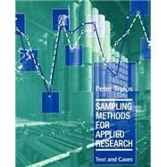 Sampling Methods for Applied...,Tryfos, Peter,9780471047278