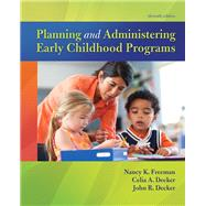 Planning and Administering...,Freeman, Nancy K.; Decker,...,9780134027319